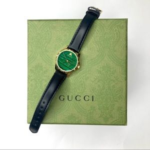 AUTHENTIC GUCCI LEATHER WATCH